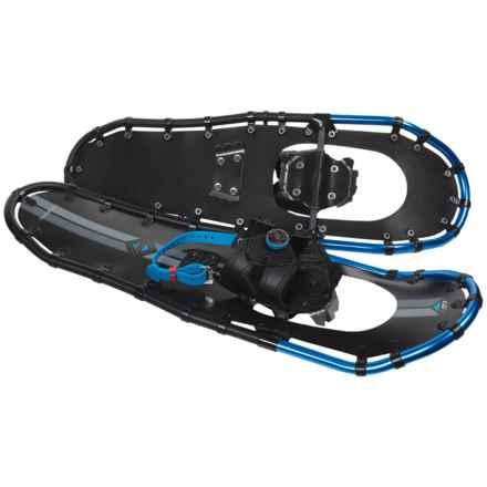 "Louis Garneau Massif 825 Snowshoes - 25"" in Black/Blue - Overstock"