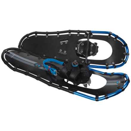 "Louis Garneau Massif 930 Snowshoes - 30"" in Black/Blue - Overstock"