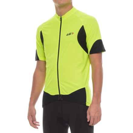 Louis Garneau Metz Lite Cycling Jersey - UPF 20, Short Sleeve (For Men) in Bright Yellow - Closeouts