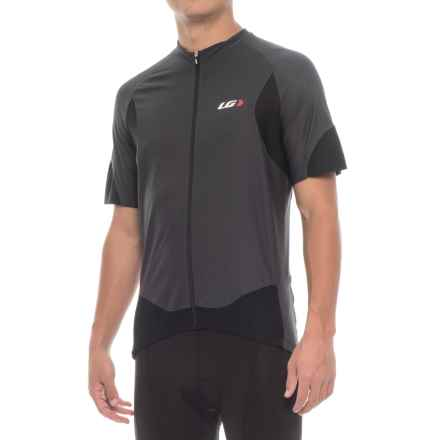 Louis Garneau Metz Lite Cycling Jersey - UPF 20, Short Sleeve (For Men) in Gray/Black - Closeouts