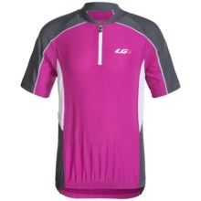 Louis Garneau Mistral Vent Cycling Jersey - UPF 50, Zip Neck, Short Sleeve (For Big Kids) in Candy Purple - Closeouts