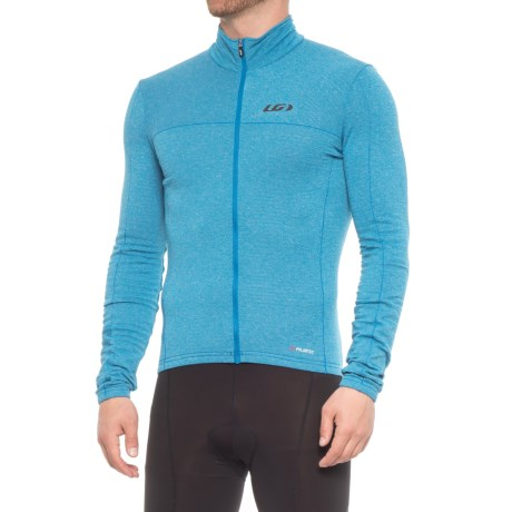 Louis Garneau Polartec® Power Wool® Cycling Jersey - Long Sleeve (For Men) in Curacao Blue