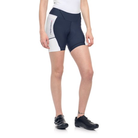 Louis Garneau Power Carbon 5.5 Cycling Shorts - UPF 30+ (For Women) in Dark Night