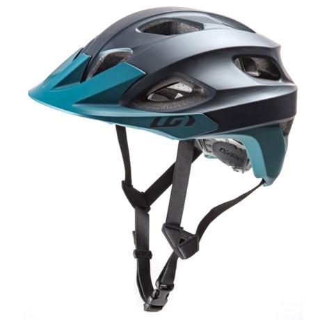Louis Garneau Raid Mountain Bike Helmet in Navy Blue