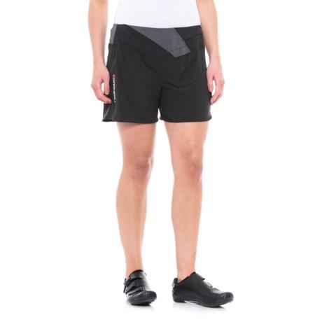 Louis Garneau Rio Cycling Shorts (For Women) in Black/Gray
