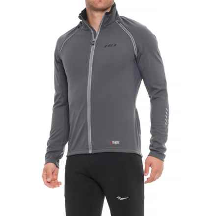 Louis Garneau Spire Polartec® Power Shield® Convertible Cycling Jacket (For Men) in Iron Gray - Closeouts