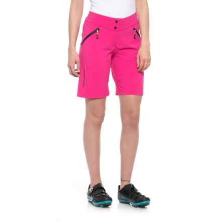 Louis Garneau Stream Zappa Mountain Bike Shorts (For Women) in Pink Glow - Closeouts