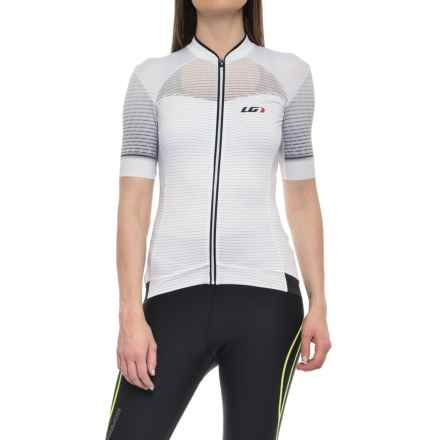Louis Garneau Stunner RTR Cycling Jersey - UPF 50, Short Sleeve (For Women) in Black/Iron Gray - Closeouts