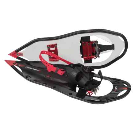 "Louis Garneau Transition BOA® Snowshoes - 23"" in Black - Closeouts"