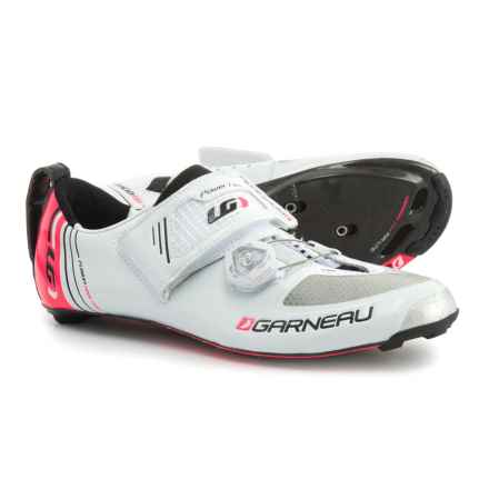 Louis Garneau Tri-400 Triathlon Shoes (For Women) in White - Closeouts