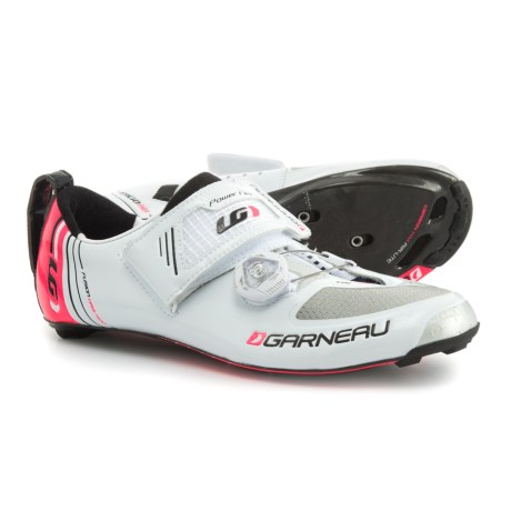Louis Garneau Tri-400 Triathlon Shoes (For Women) in White