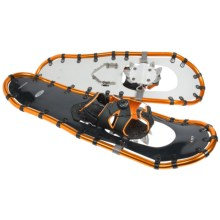 "Louis Garneau Yeti 930 Snowshoes- 30"" in Black/Orange - Closeouts"