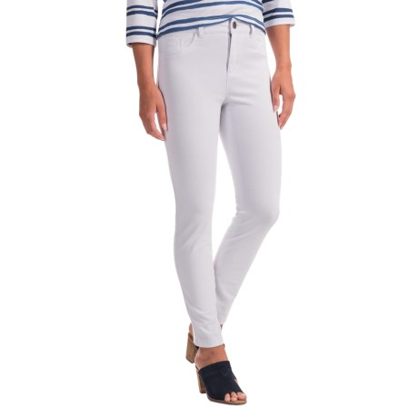 LOVE by FDJ French Dressing FDJ French Dressing Olivia Stretch Ankle Jeans (For Women) in White
