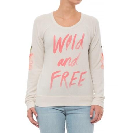 Love Knit Raglan Shirt - Long Sleeve (For Women)