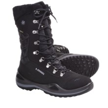 Lowa Alagna Gore-Tex® Winter Boots - Waterproof, Insulated (For Women) in Black - Closeouts