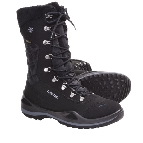 Lowa Alagna Gore-Tex® Winter Boots - Waterproof, Insulated (For Women) in Black