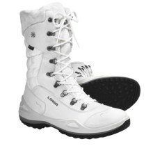 Lowa Alagna Gore-Tex® Winter Boots - Waterproof, Insulated (For Women) in White - Closeouts