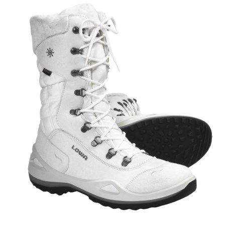 Lowa Alagna Gore-Tex® Winter Boots - Waterproof, Insulated (For Women) in White