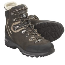 Lowa Albula LL Backpacking Boots - Leather (For Women) in Dark Grey/Beige - Closeouts