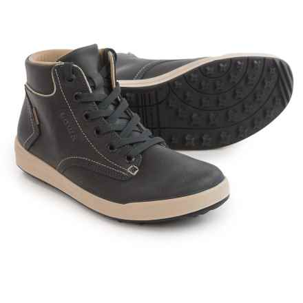 Lowa Alice LL QC Gore-Tex® High-Top Sneakers - Waterproof (For Women) in Anthracite/Cream - Closeouts