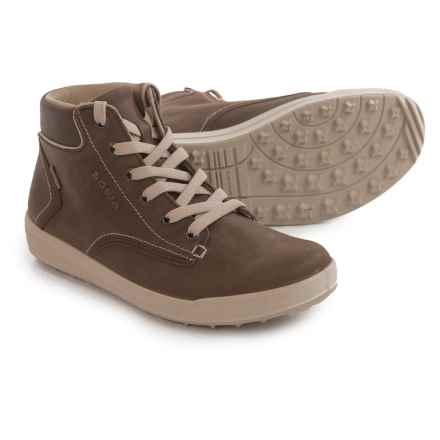 Lowa Alice LL QC Gore-Tex® High-Top Sneakers - Waterproof (For Women) in Brown/Cream - Closeouts