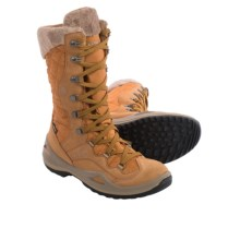 Lowa Atina Gore-Tex® Snow Boots - Waterproof, Insulated (For Women) in Cognac - Closeouts