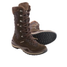 Lowa Atina Gore-Tex® Snow Boots - Waterproof, Insulated (For Women) in Dark Brown - Closeouts