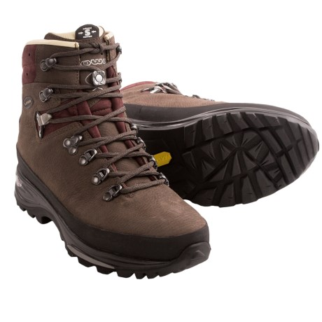 Lowa Baltoro Backpacking Boots (For Women) in Brown/Burgundy