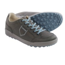 Lowa Bandon Waxed-Nubuck Sneakers (For Men) in Anthracite/Denim - Closeouts