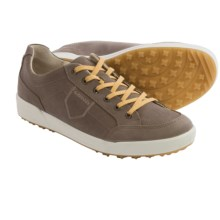 Lowa Bandon Waxed-Nubuck Sneakers (For Men) in Taupe/Mustard - Closeouts