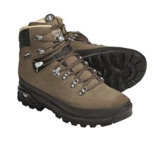Lowa Banff Pro Hiking Boots - Leather (For Women) in Taupe/Navy - Closeouts