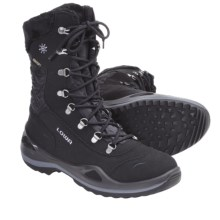 Lowa Brenta Gore-Tex® Winter Boots - Waterproof, Insulated (For Women) in Black - Closeouts