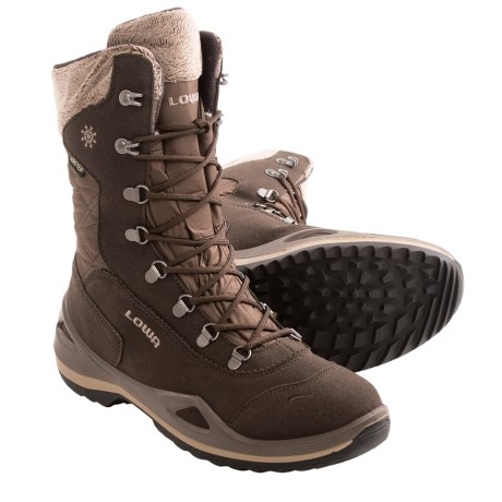Lowa Brenta Gore-Tex® Winter Boots - Waterproof, Insulated (For Women) in Brown