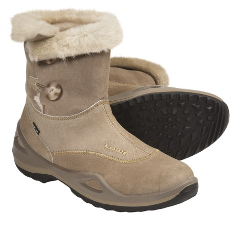 Lowa Caldera Gore-Tex® Mid Winter Boots - Waterproof, Insulated (For Women) in Brown