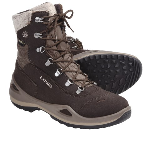 Lowa Carinzia Gore-Tex® Hiking Boots - Waterproof, Insulated (For Women) in Brown