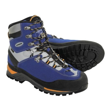 Lowa Cevedale Gore-Tex® Mountaineering Boots - Waterproof (For Men) in Blue/Light Grey