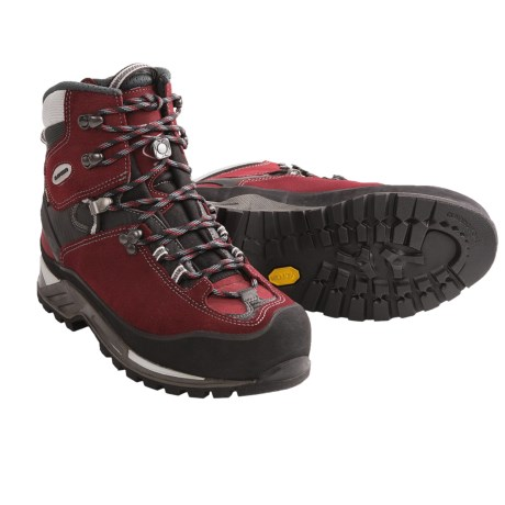 Lowa Cevedale Gore-Tex® Mountaineering Boots - Waterproof (For Women) in Burgundy/Black