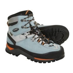 Lowa Cevedale Gore-Tex® Mountaineering Boots - Waterproof (For Women) in Ice Blue/Light Grey