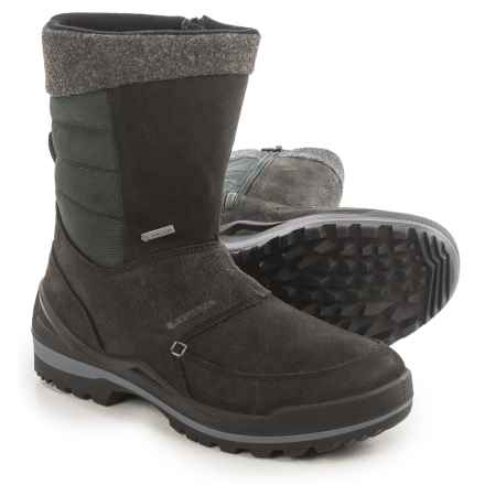 Lowa Chicago Gore-Tex® Hi Snow Boots - Waterproof, Nubuck (For Men) in Black - Closeouts