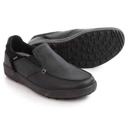 Lowa Chicago Gore-Tex® Lo Shoes - Waterproof, Slip-Ons (For Men) in Black - Closeouts