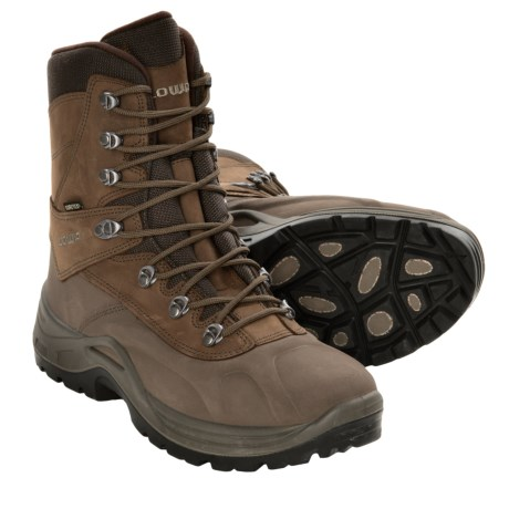 Lowa Couloir Gore-Tex® Winter Boots - Waterproof, Insulated (For Men) in Chestnut