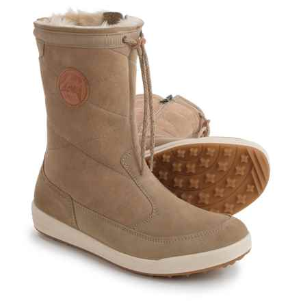 Lowa Dalarna Gore-Tex® Panda Mid Snow Boots - Waterproof (For Women) in Light Brown - Closeouts