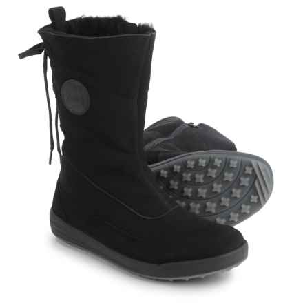 Lowa Dalarna Hi Snow Gore-Tex® Panda Boots - Waterproof (For Women) in Black - Closeouts