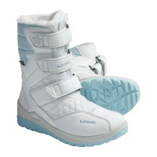 Lowa Eva Gore-Tex® Hi Boots - Waterproof (For Kids) in White/Blue - Closeouts
