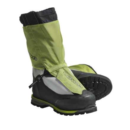 Lowa Expedition 6000 RD Gore-Tex® Mountaineering Boots - Waterproof, Insulated (For Men) in Lime/Silver - Closeouts