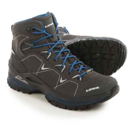 Lowa Ferrox Gore-Tex® Mid Hiking Boots - Waterproof (For Men) in Graphite/Blue - Closeouts