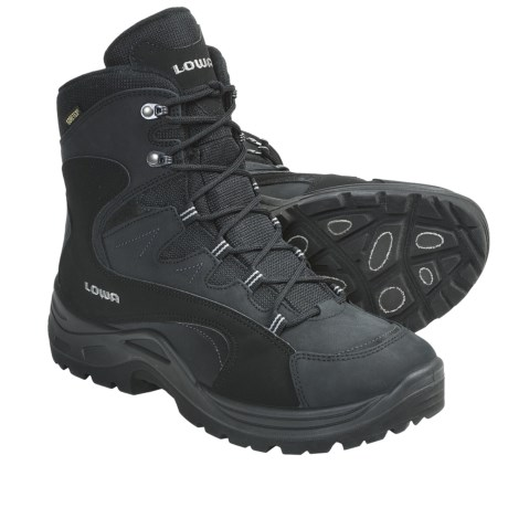 Lowa Fiemme Gore-Tex® Hi Hiking Boots - Waterproof (For Men) in Black