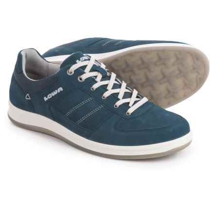 Lowa Firenze Lo Shoes - Suede (For Men) in Navy - Closeouts