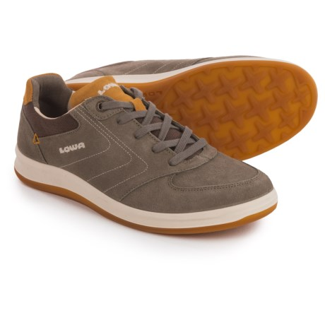 Lowa Firenze Lo Sneakers - Suede (For Women) in Taupe/Camel