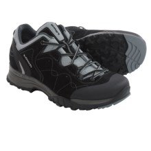 Lowa Focus Gore-Tex® Lo Hiking Shoes - Waterproof (For Women) in Black/Silver - Closeouts